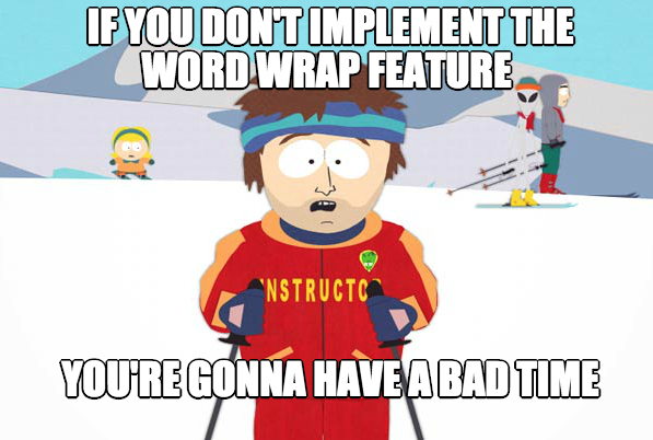 Wrapping Text and Making Memes | Kaiser Leib